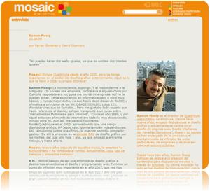 Entrevista Mosaic